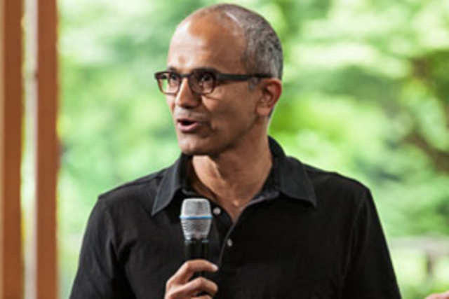 Microsoft is likely to name Indian-American top executiveSatyaNadellato replace longtime chief SteveBallmeras the new chief executive officer.