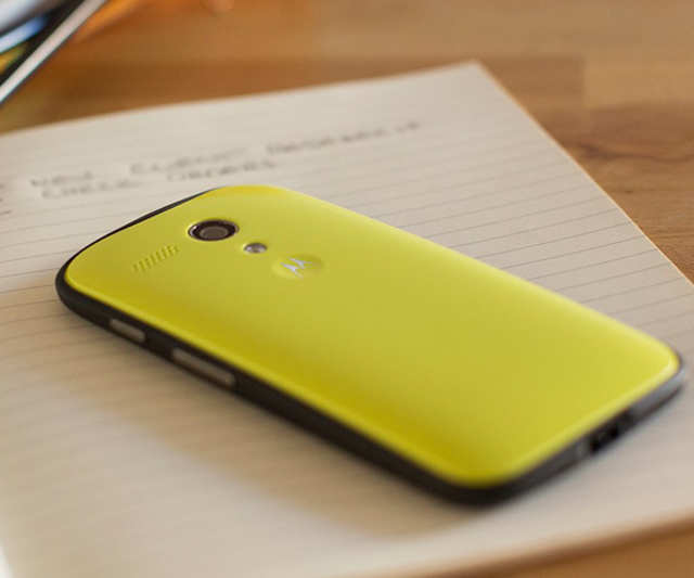 Moto G has been launched in India at a price point of Rs 12,499 for the 8GB variant and Rs 13,999 for the 16GB storage variant.