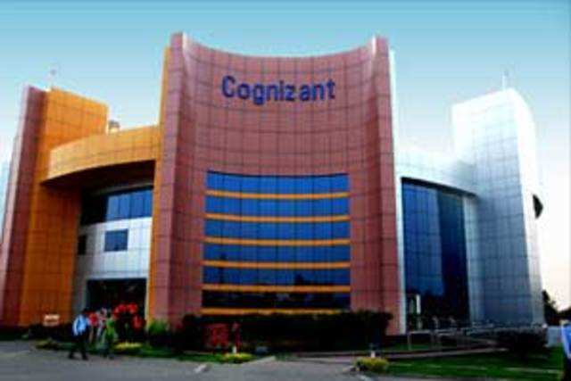 Cognizant has reported higher quarterly revenue, helped by a 22% rise in revenue from its financial services business.