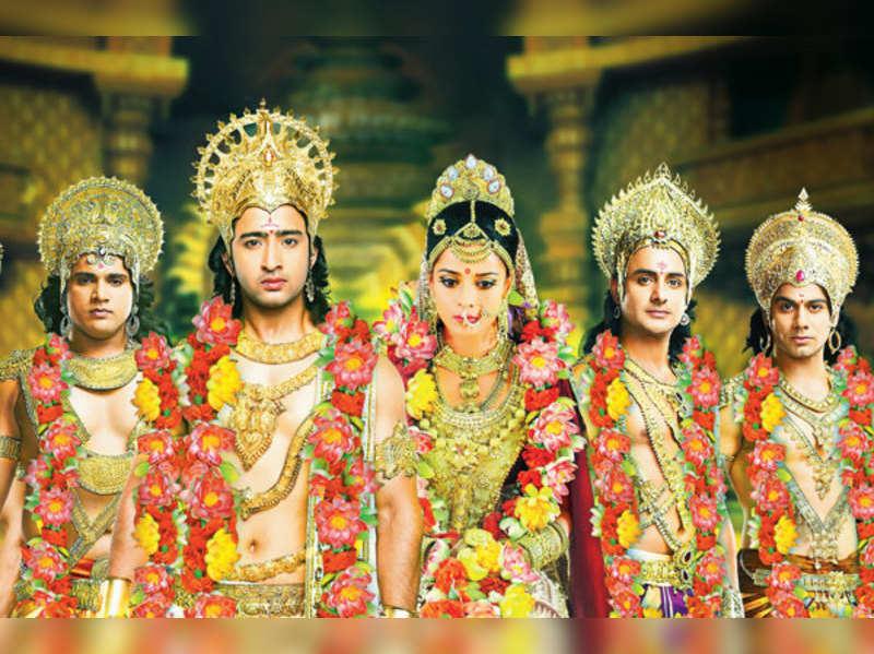 Small screen's biggest Swayamvar - Draupadi chooses Arjun