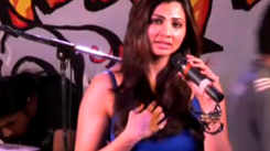 Daisy Shah attends concert against smoking