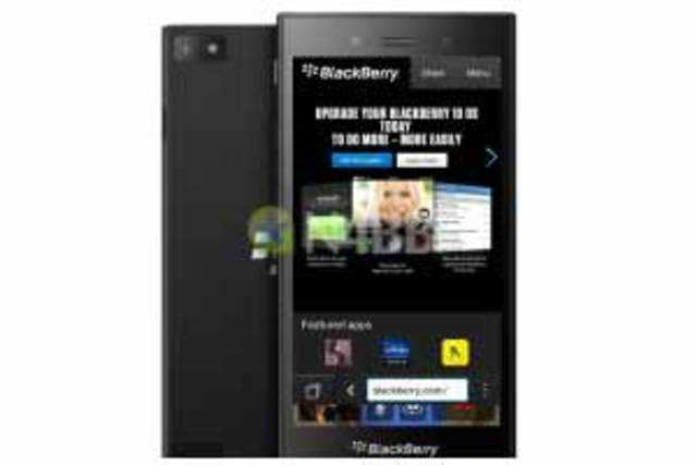 BlackBerry's firstBB10-poweredfull-touch phoneZ3has made appearance online, courtesy alleged press renders.