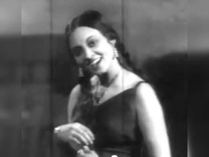 Meenakshi Shirodkar was the first Marathi actress to wear a swimsuit onscreen