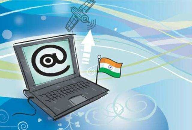 India's internet population rose to 238.71 million last year helped by growing number of users especially in Maharashtra, Uttar Pradesh, Tamil Nadu, Gujarat and Andhra Pradesh.