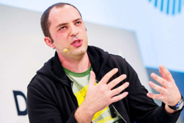 At MWC2014, Jan Koum said that we want all smartphone users (in India) to be on WhatsApp.