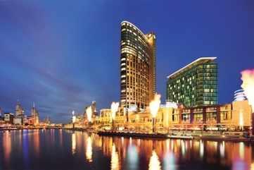 Crown Entertainment Complex Skyline