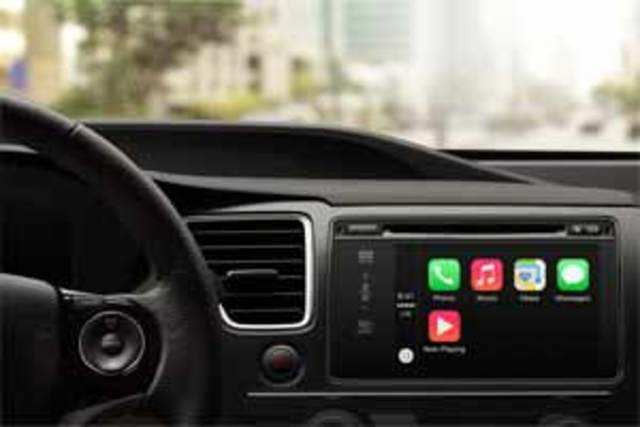 CarPlay is essentially a hardware and software solution built into the car that lets drivers use their iPhones without getting distracted.