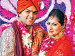 Vibhor and Prapti's wedding ceremony