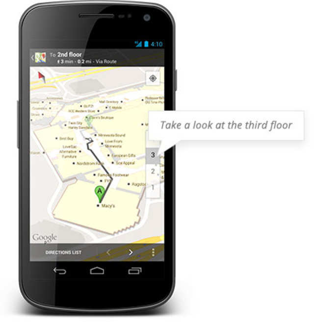 Google has announced the availability of indoor maps in India.