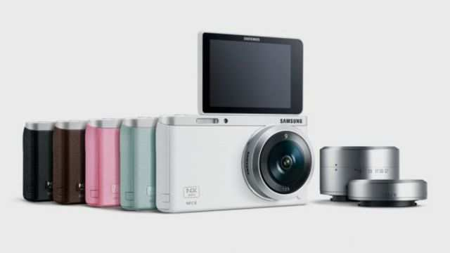 Samsung has introduced a new compact system camera, the NX mini, which it says is the slimmest and lightest in the world.