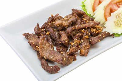 Tips for stir frying pork