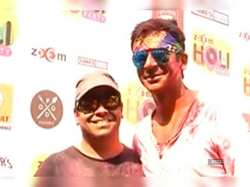 Kiku Sharda and Sunil Grover