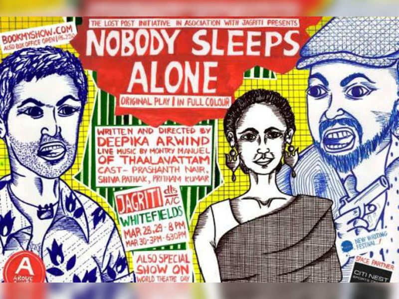 Theatre review: Nobody Sleeps Alone