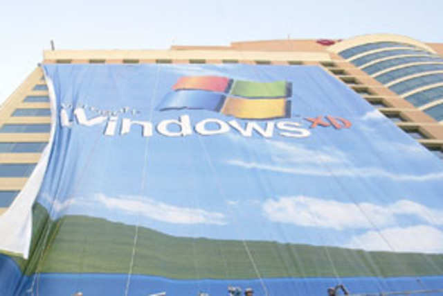The total number of vulnerable branches that have 40% or more penetration of Windows XP PCs is close to 34,115.