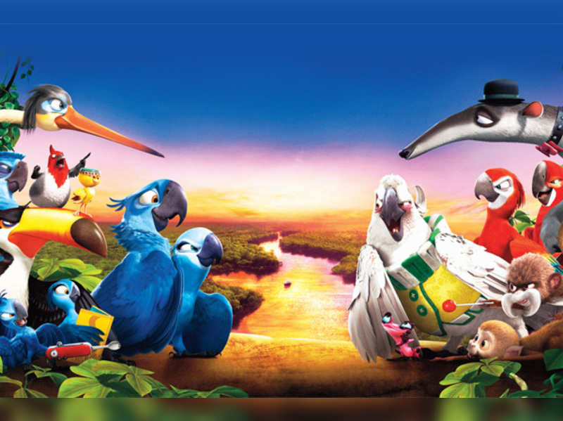 Rio 2 Meet The New Characters Of Rio 2 English Movie News Times Of India