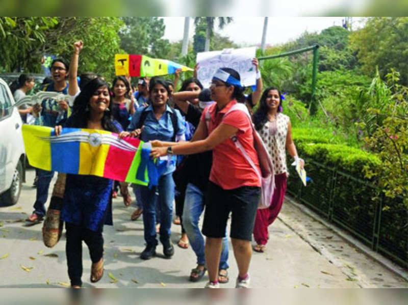 Girls' college elections cleaner than co-ed ones