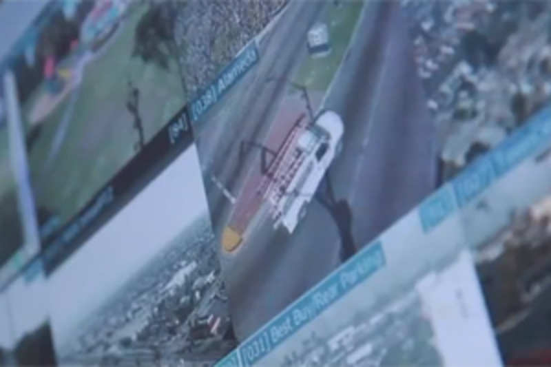 A live version of Google Earth to track crime in real-time