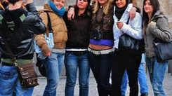 Jeans going out of fashion among teens