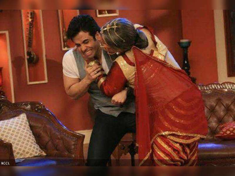 It's my chemistry with dad that worked on Comedy Nights With Kapil