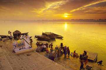 Sunrise on the Ganga