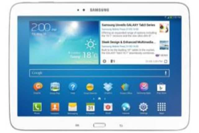 The 10.1-inch tablet has been listed on Samsung IndiaeStoreat a price ofRs36,340.