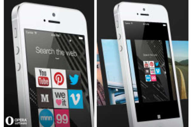 Opera, has released the iPhone version of its Coast web browser.