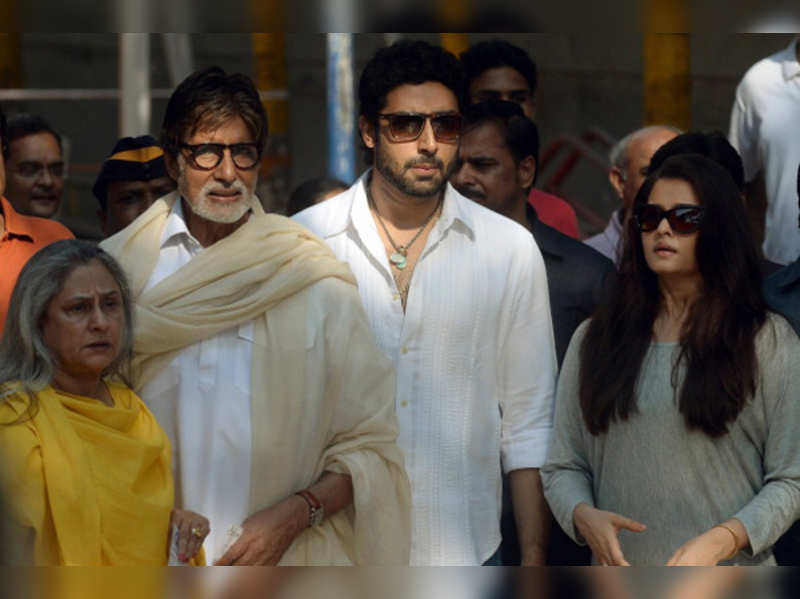 The Bachchans come out to vote