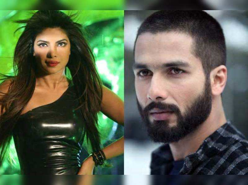 Exes Priyanka and Shahid Kapoor's face off this October
