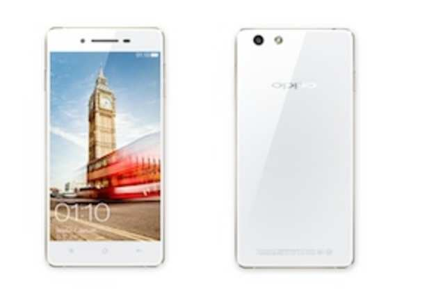 Chinese handset makerOppohas launched a new mid-range handset,OppoR1at a price ofRs26,990.