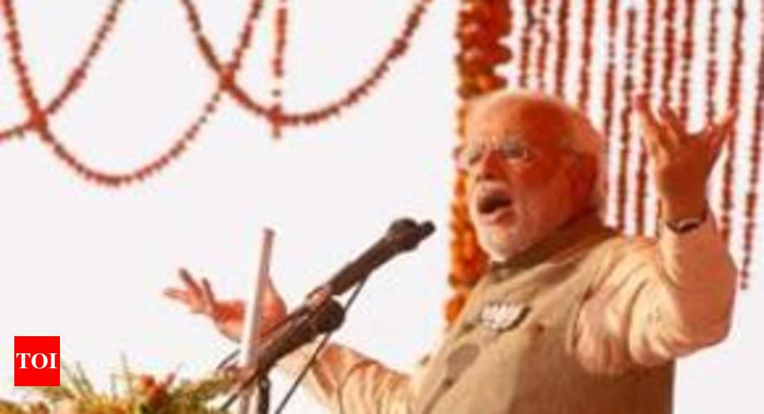 Aap ke muh mein ghee-shakkar: Modi to Sonia - Times of India