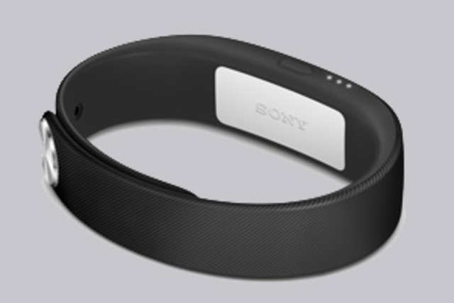 SmartBand SWR10 is a waterproof device and tracks wearers' physical, social and entertainment activities.