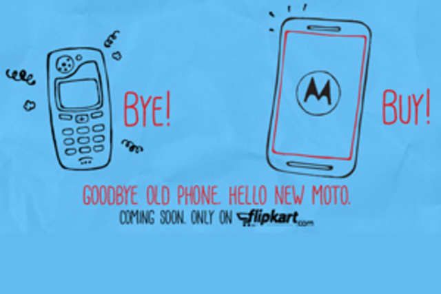 The first photo of Motorola's upcoming smartphone Moto E has leaked online, just three days ahead of its official unveiling.