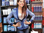 Celebs at a store launch