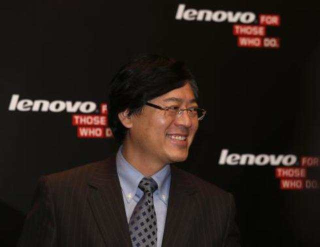 Lenovo is especially pushing smartphones, to offset a decline in its once-mainstay personal computers (PC) as consumers switch to mobile devices.