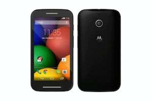 Flipkart's website showed several errors Friday morning minutes after Motorola's Moto E went on sale.