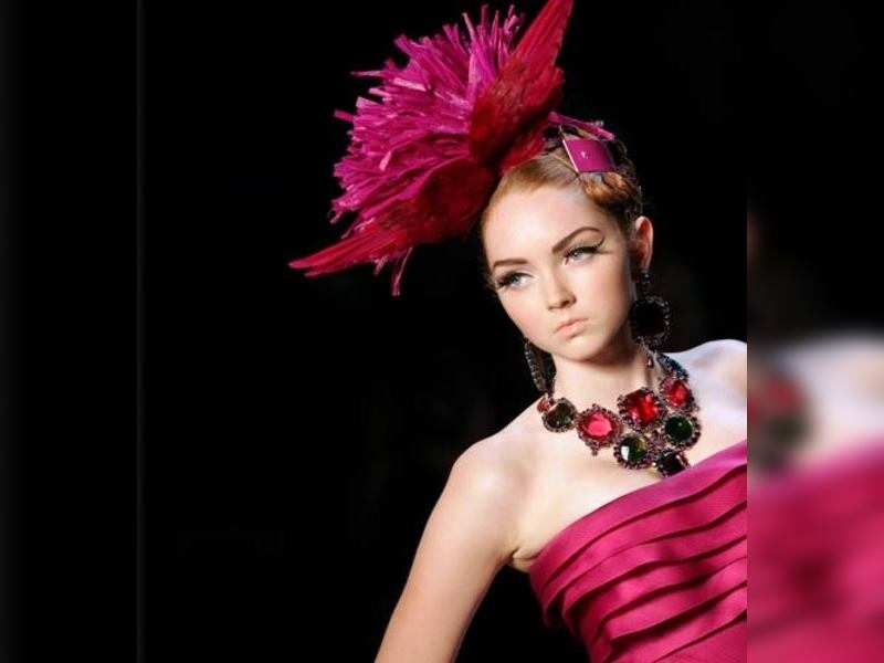Lily Cole bares all for French playboy | English Movie News - Times of India