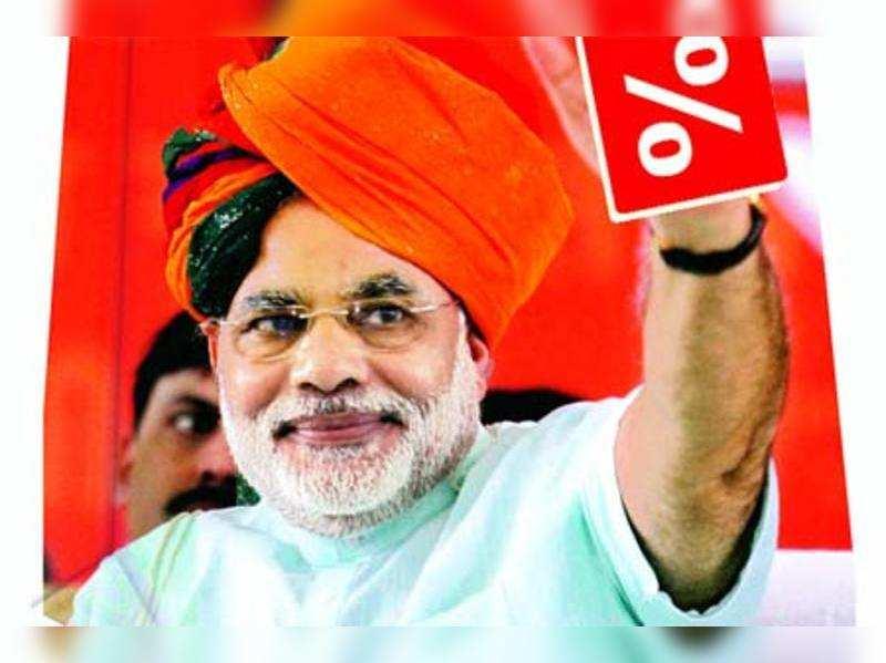 31% vote, 51% seats & 50% discount for Modi
