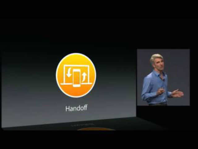 When your iPhone or iPad is near your Mac, Handoff lets you start an activity on one device and pass it to the other.
