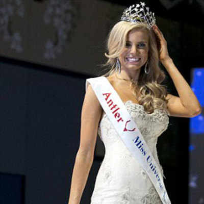 Miss Universe Australia 2014 Tegan Martin had to put on weight to win the crown as she was too skinny.