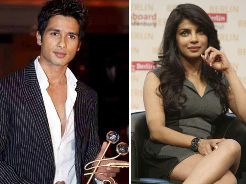 Shahid Kapoor and Priyanka Chopra to pair up again?