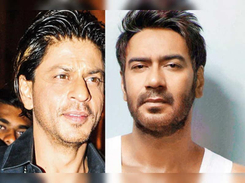 Shah Rukh Khan-Ajay Devgn hug and bury the hatchet