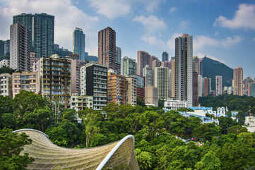 Wander through the Hong Kong Park