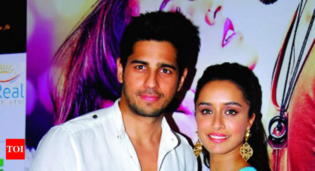 Sidharth Malhotra And Shraddha Kapoor Wer In Town To Promote Ek
