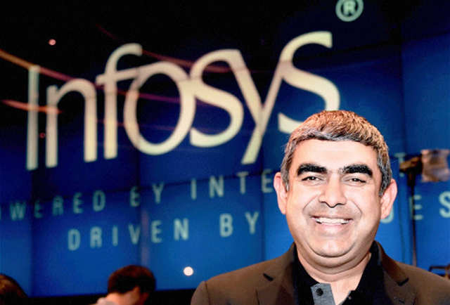 Dressed in a black tee and blazer, Vishal Sikka would have fit right into one of the thousands of conferences and launches held in the Valley every year.