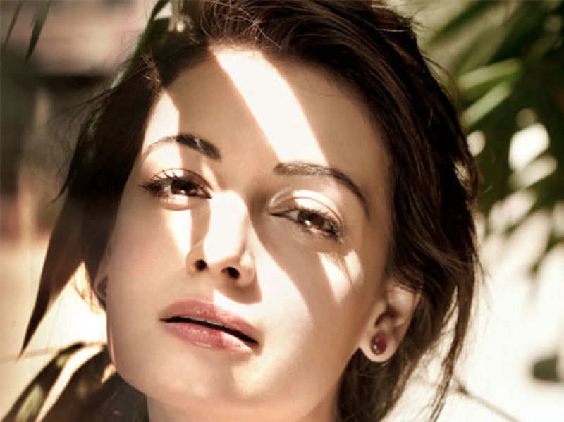 I took my surname Mirza from my step-father: Dia Mirza