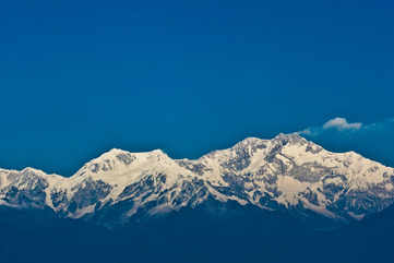 Gaze at Kanchenjunga