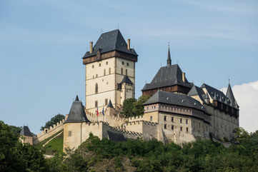 Step into history at Karlstejn Castle