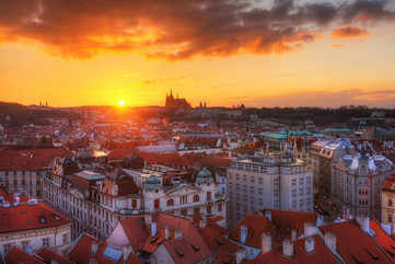 The lure of Prague