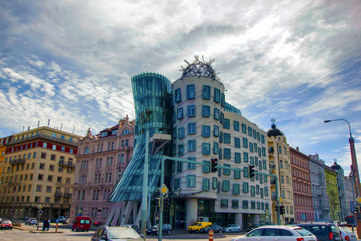 Admire Prague's Dancing House