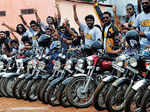 Kerala Bikers organise Breakfast Ride